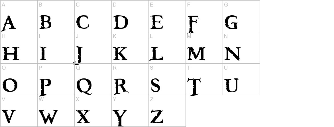 Freebooter uppercase