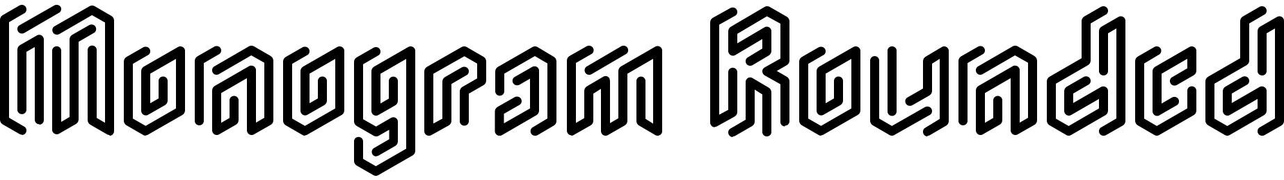 Monogram Rounded