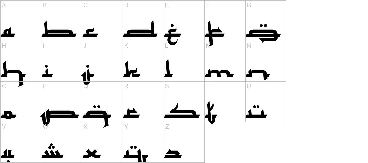 Mukadimah uppercase