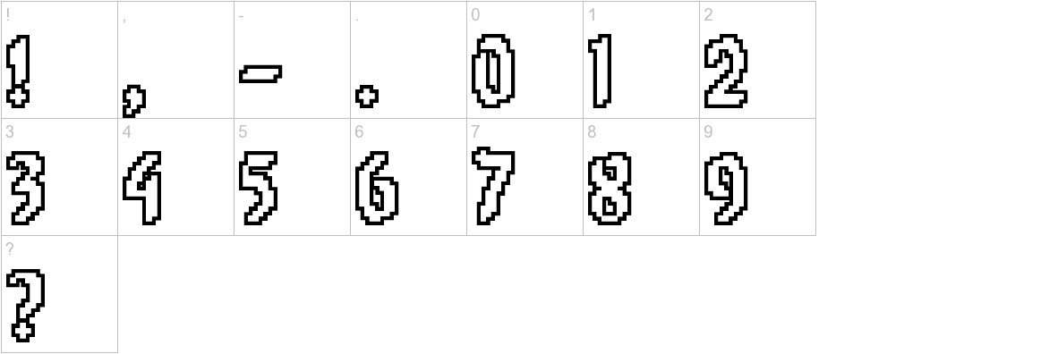 8-bit Limit O (BRK) characters