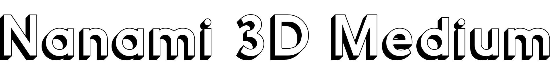 Nanami 3D Medium