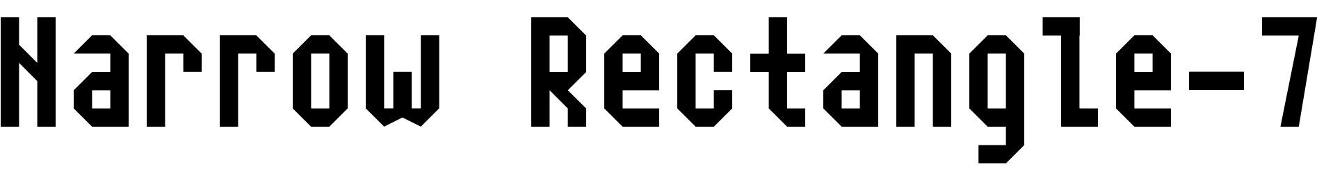 Narrow Rectangle-7