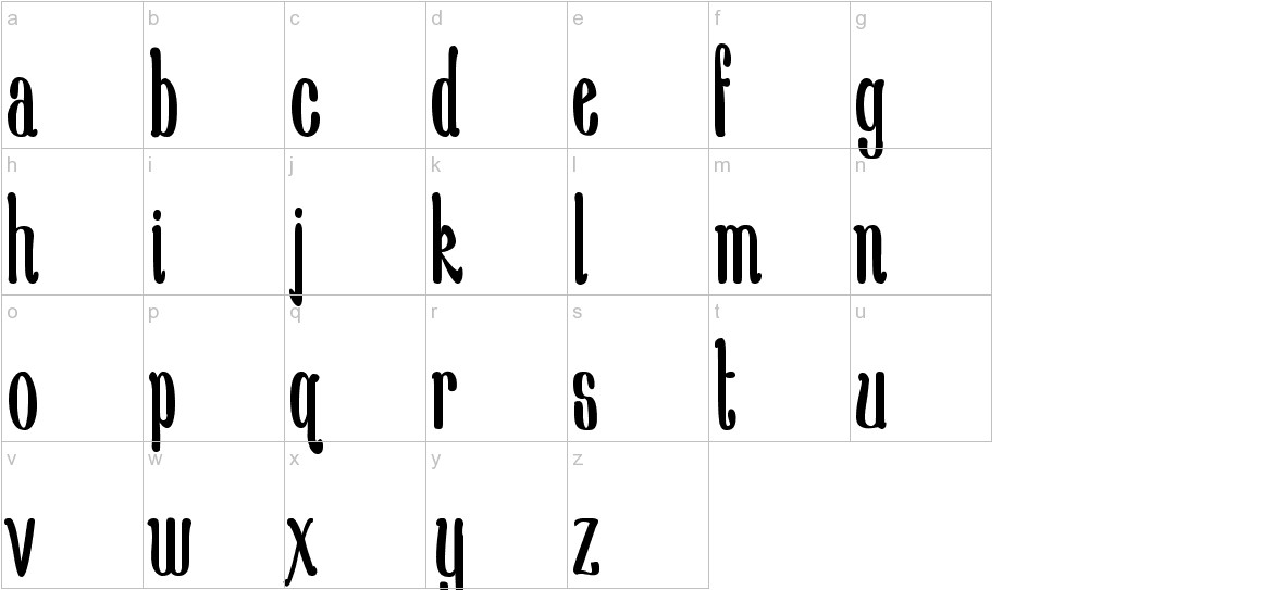 New School Class Med lowercase
