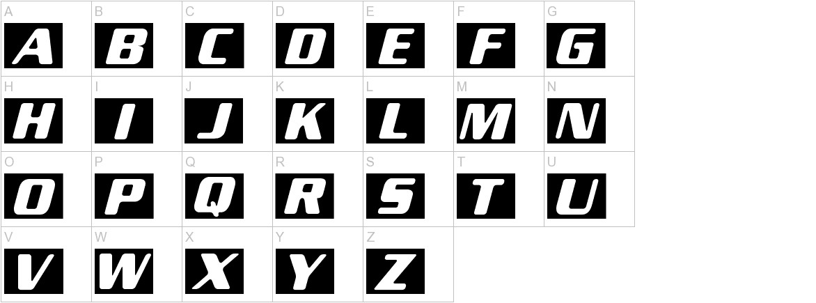New Space uppercase