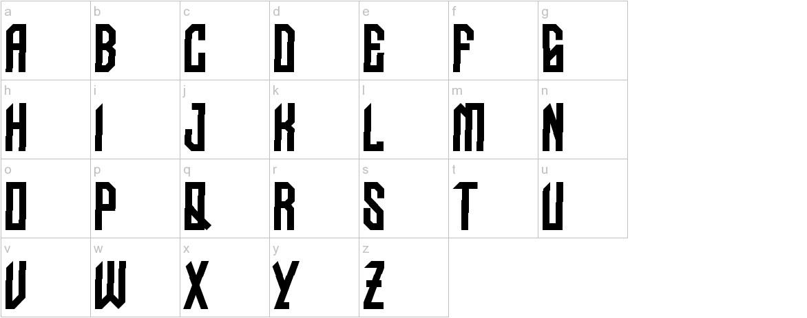NUDO-Dislocado lowercase