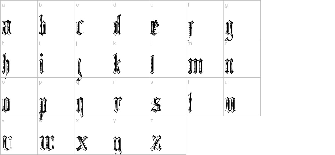 Grafik Text lowercase