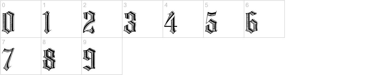Grafik Text characters