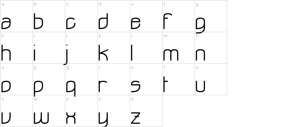 Ohdoad lowercase