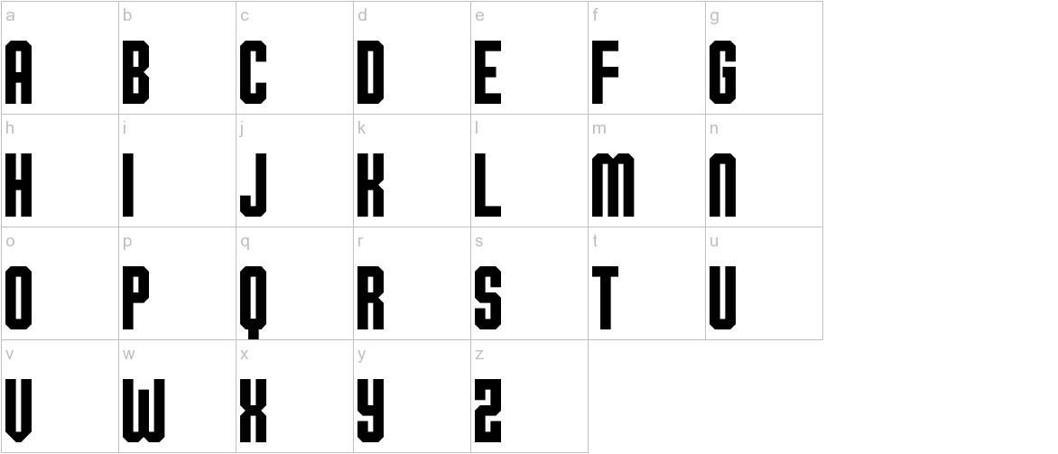 Ohio Collegiate lowercase