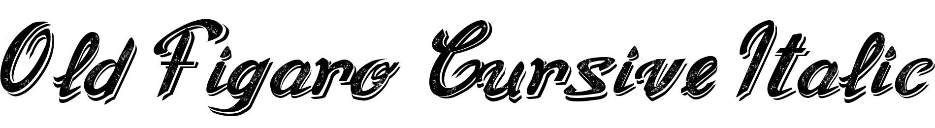 Old Figaro Cursive Italic