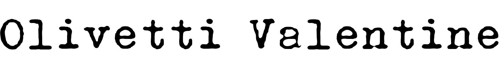 Olivetti Valentine