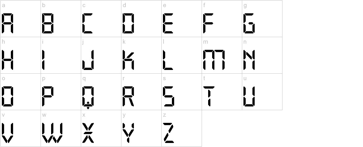 Open 24 Display St lowercase