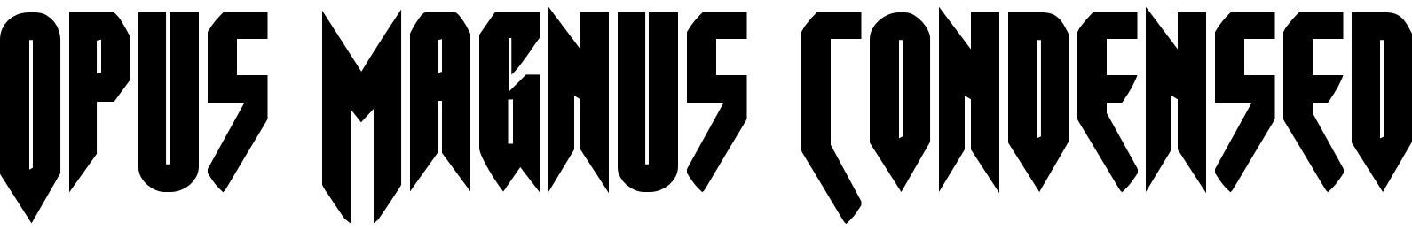 Opus Magnus Condensed