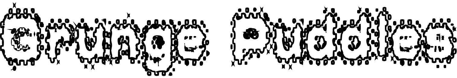 Grunge Puddles