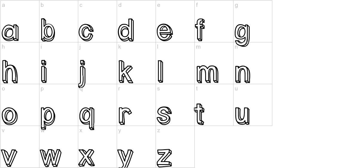 PastelBlock lowercase