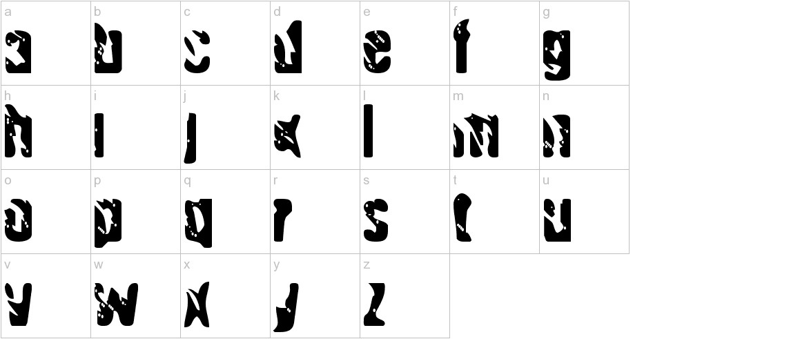 Handgranade lowercase
