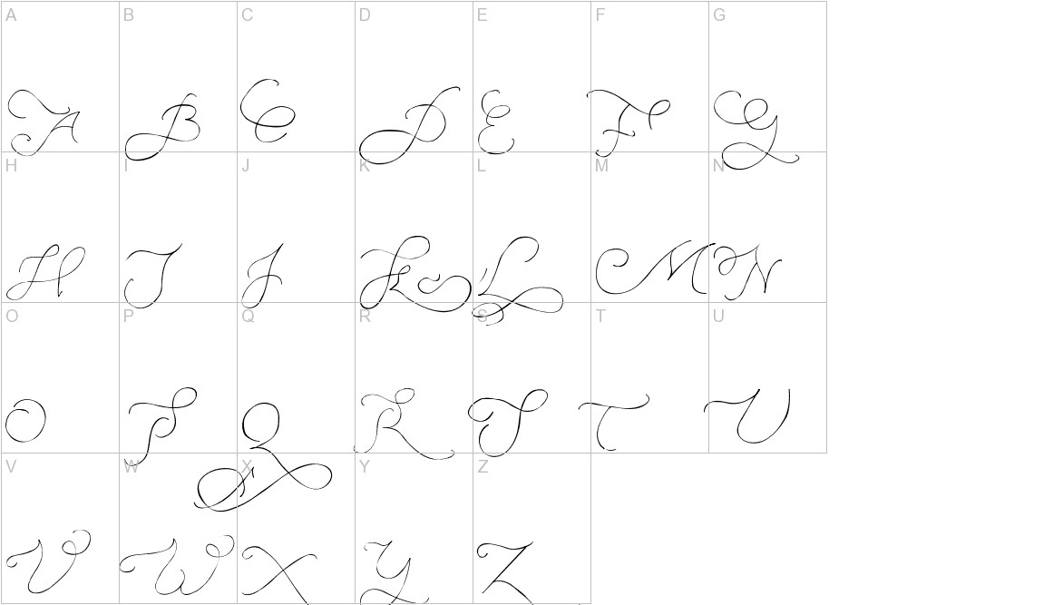 Persifal Pen uppercase