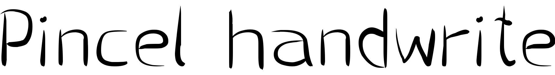 Pincel handwrite
