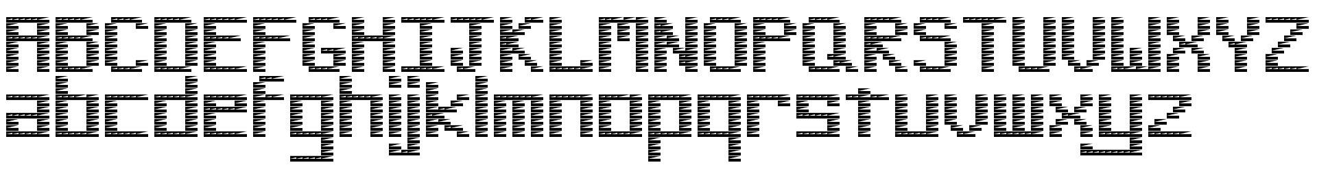 Pinstripe Bitmap