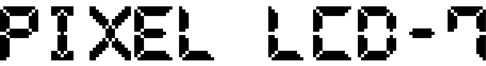 Pixel LCD-7