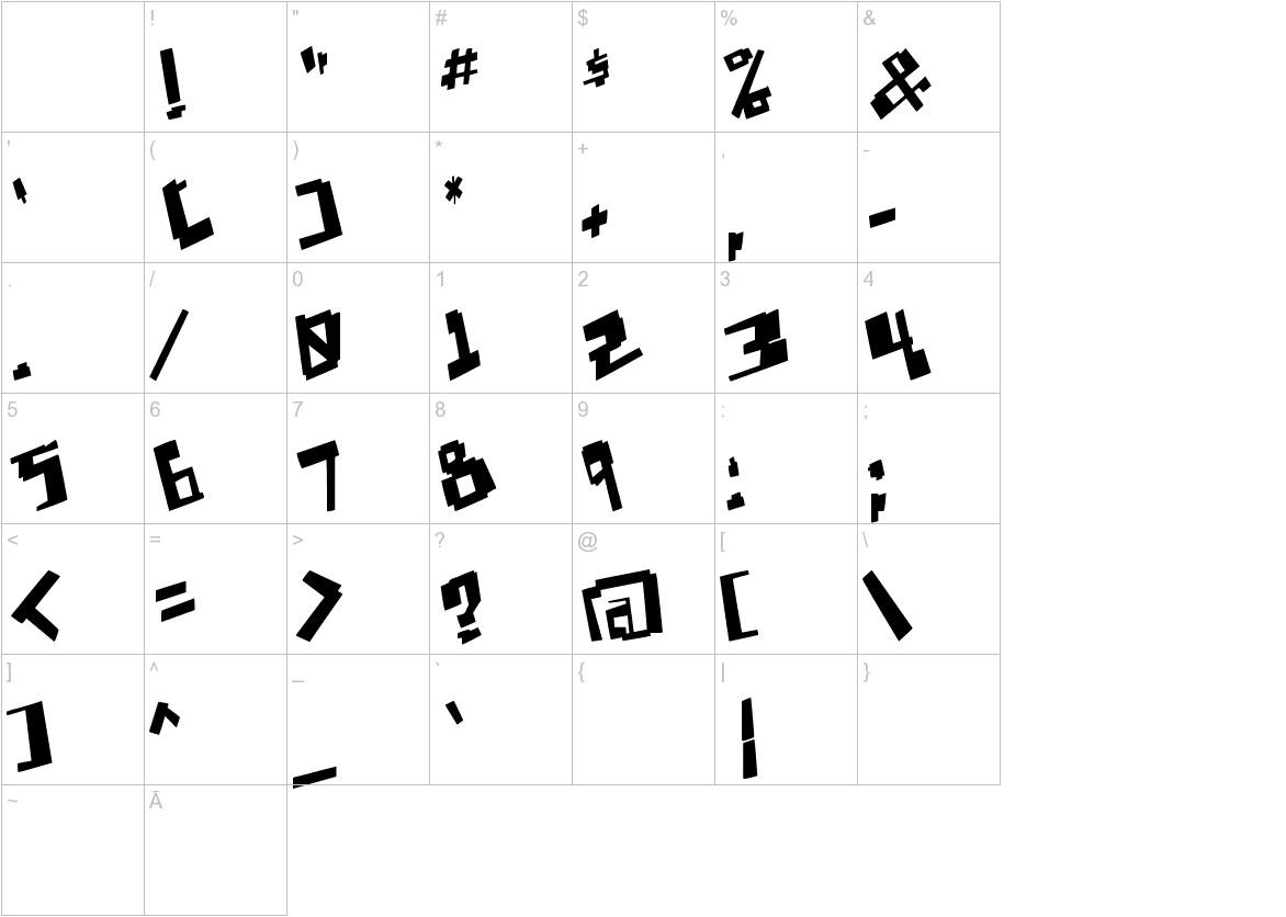 Pixelpunk characters