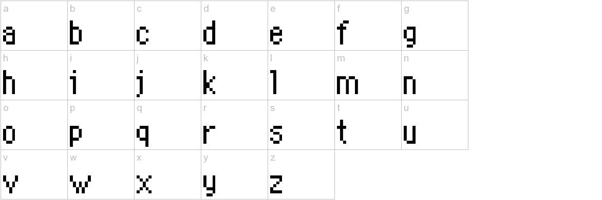 PKMN Mystery Dungeon lowercase
