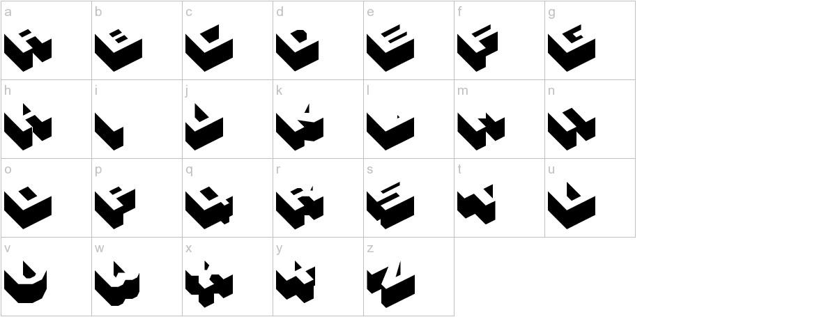 Hexagon lowercase