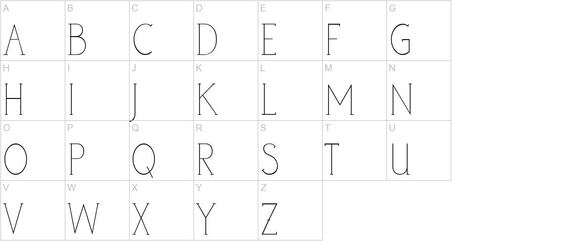 poor weekdays serif uppercase