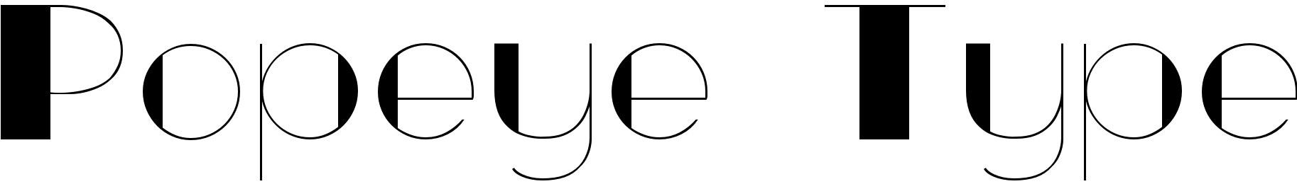 Popeye Type