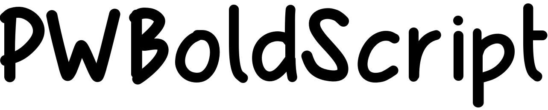 PWBoldScript