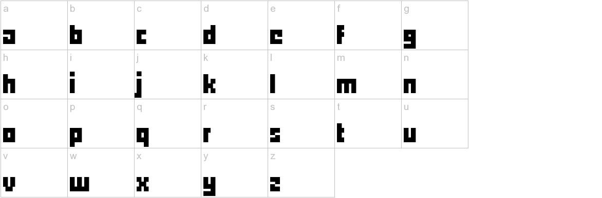 pxll lowercase