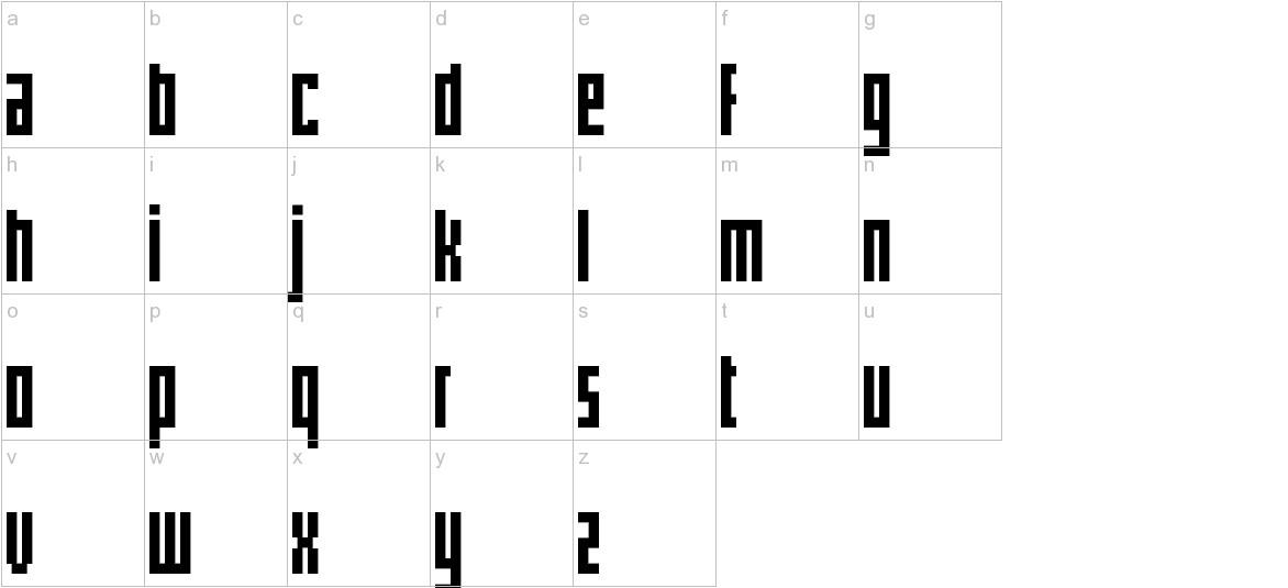pxlxxlcond lowercase