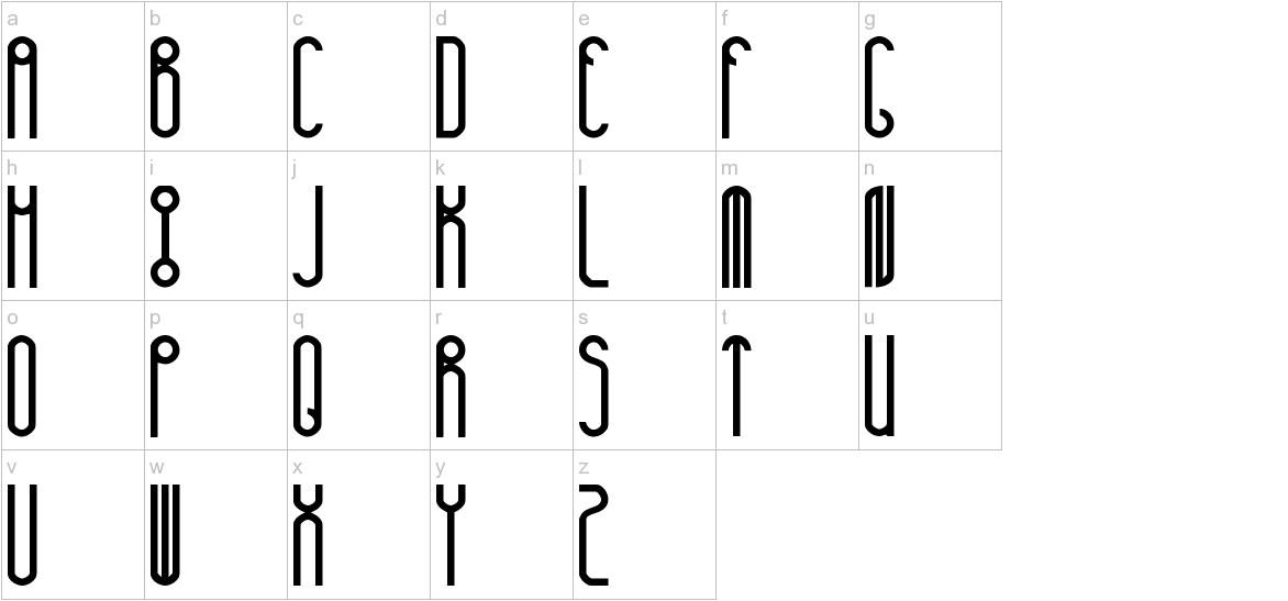huxley lowercase