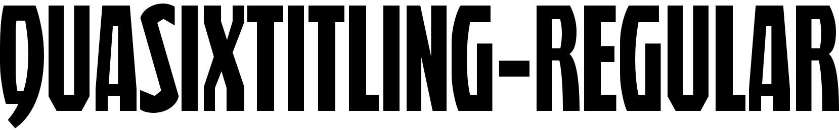 QuasixTitling-Regular