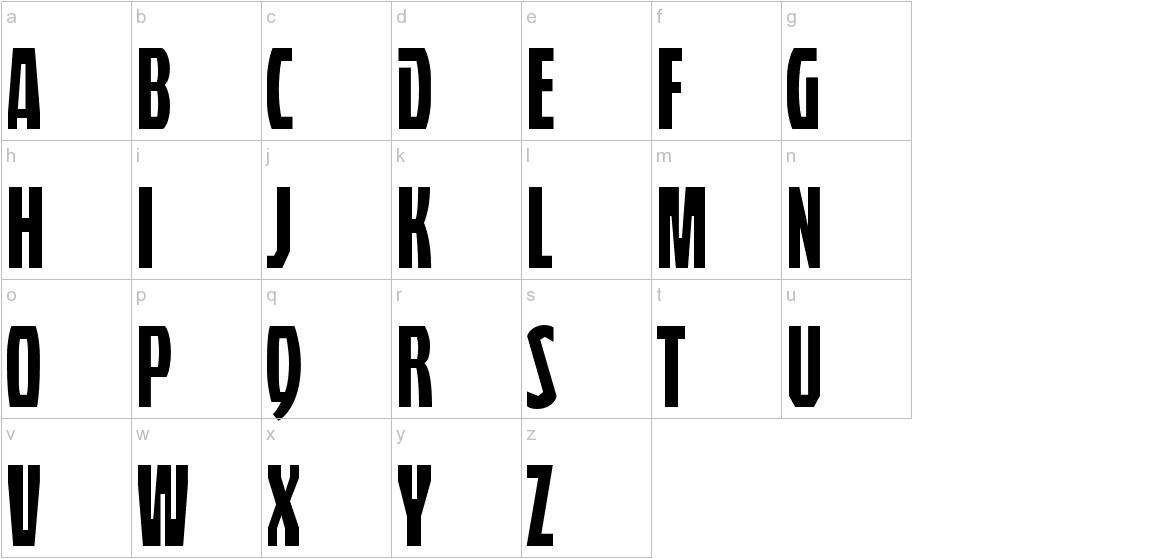 QuasixTitling-Regular lowercase