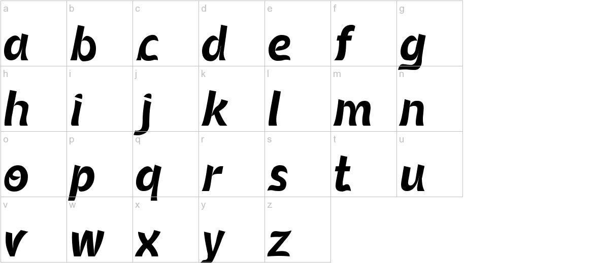 Queenamor lowercase
