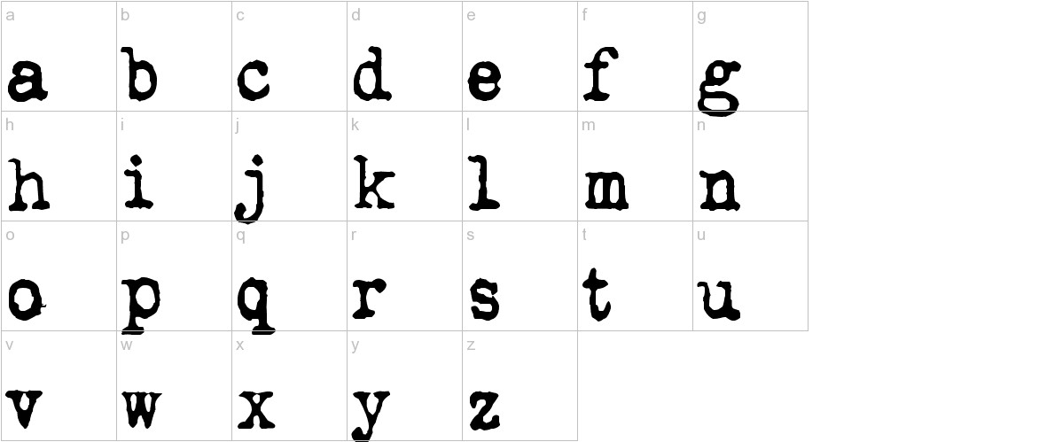 QWERTYpe lowercase