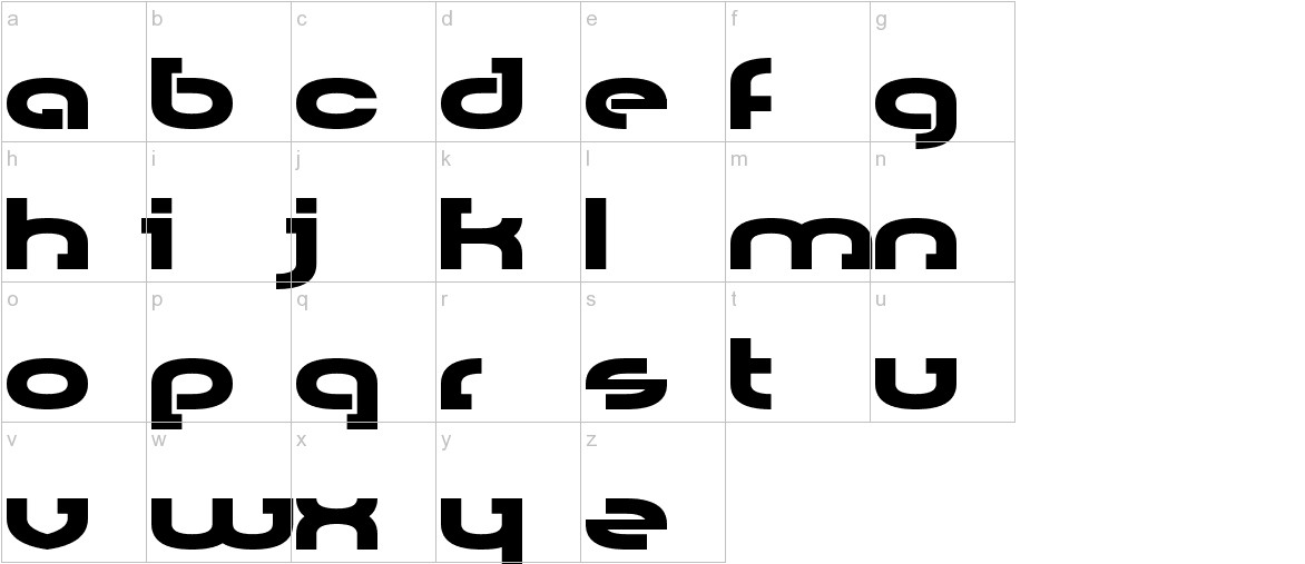 Rally Blade lowercase