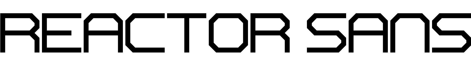 Reactor Sans