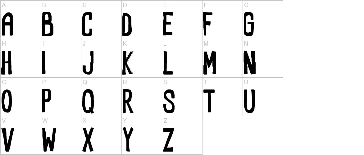 RectoFilled uppercase