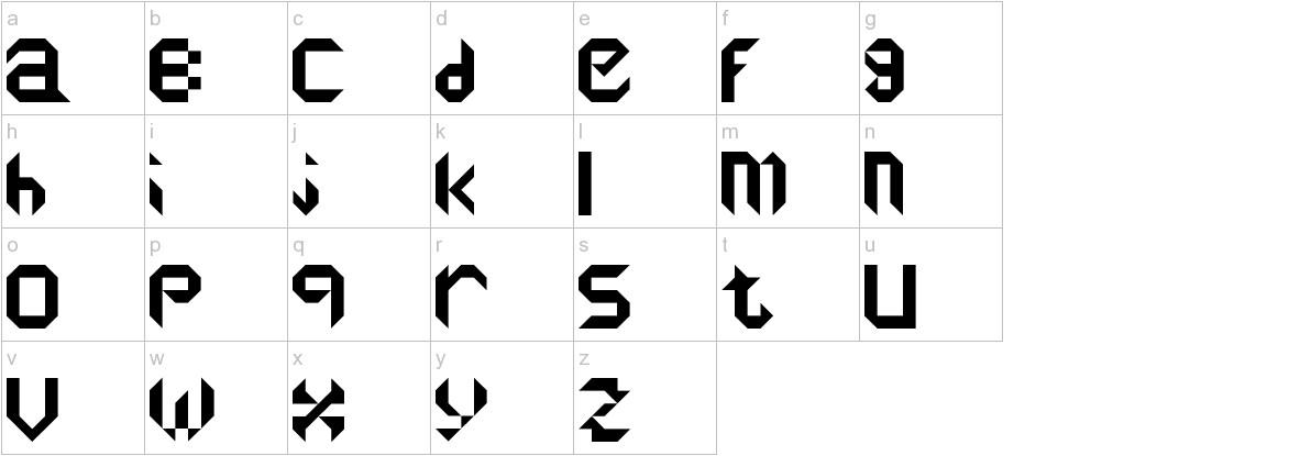 reflectors lowercase