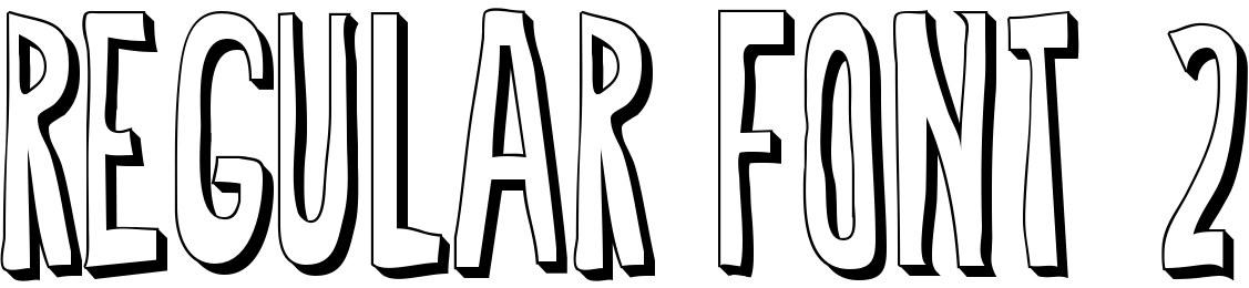 Regular Font 2