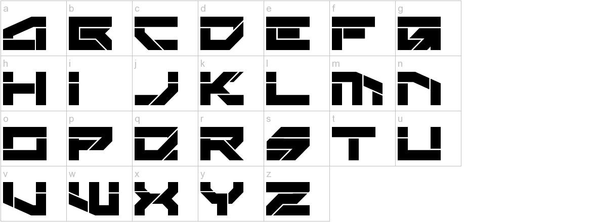 Rektec lowercase