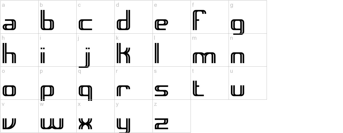 Intersect BRK lowercase