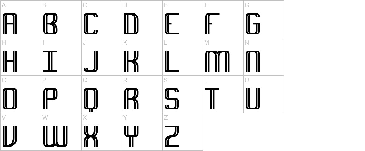 Intersect BRK uppercase