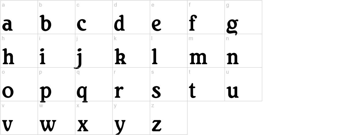 RitaSmith lowercase