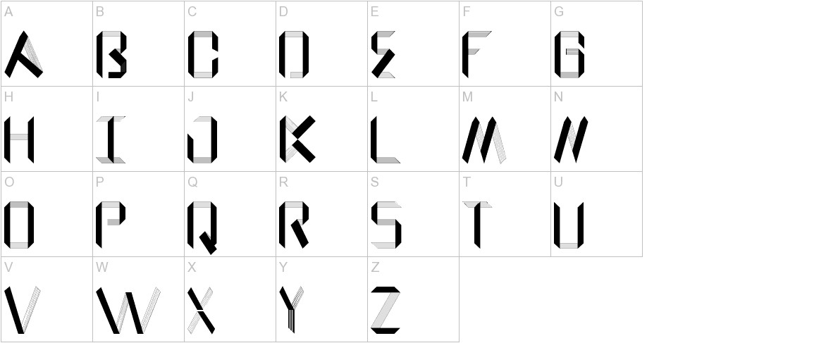 Rodriguez_Geometric Paper uppercase