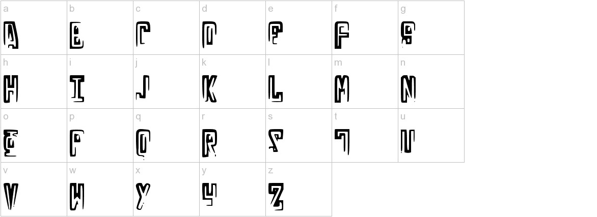 RussianLine lowercase