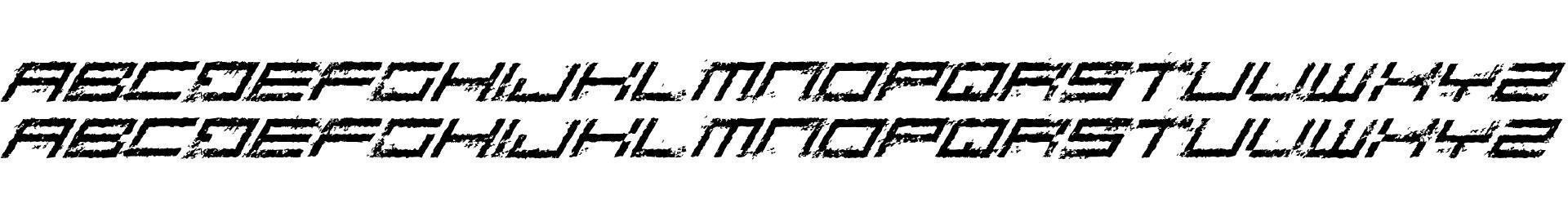 Rusting Robotica Italic