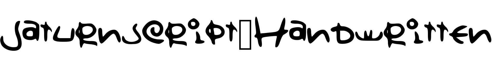 Saturnscript_Handwritten